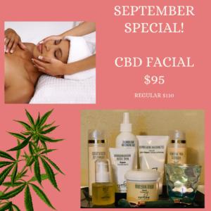 CBD Facial Special